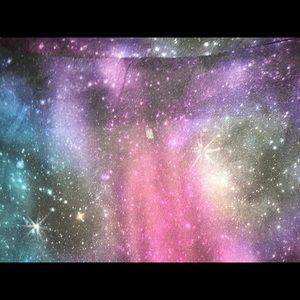 Hot Topic Tops - Small Galaxy Kimono FESTIVAL WEAR Space Stars